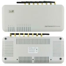 8 Channel VoIP GSM Gateway/8-Channel GSM VoIP Gateway GoIP-8 support SMS Server