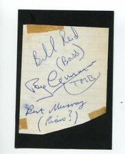 Roy Crimmins  English Jazz Bill Reid Beatles Promoter Rare Signed Autograph