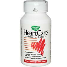 HeartCare, Hawthorn Extract, 120 Tablets - Nature's Way