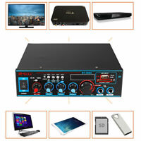800W Amplificatore HIFI Digitale Bluetooth Audio Stereo MP3 SD Card Radio FM