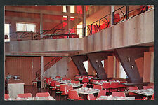 C1960s View of the Interior, Big Red Rooster Restaurant, Elmvale, Ontario