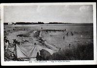 CHATELAILLON / SAINT-JEAN-des-SABLES (17) CAMPING à la PLAGE animée en 1939