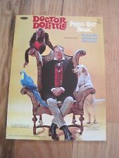 Doctor Doolittle Press-Out Book MCMLXVII 1967