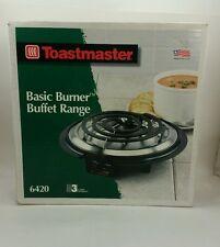 Toastmaster Brand Model 6420 Single Burner Electric Buffet Server Hot Plate Dorm