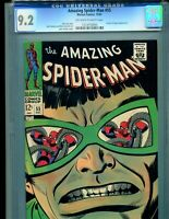 Amazing Spider-Man 55 CGC 9.2 OW/WHITE pages Classic Doc Ock Cover 1967 Marvel