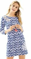 NWOT Lilly Pulitzer Marlowe Dress Resort White A Mermaids Tail Size M Medium
