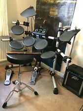 More details for yamaha dtx500 electric drum kit with amp,headphones and stool.