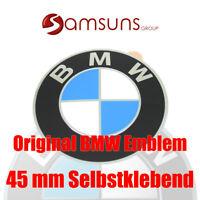 ORIGINAL BMW Logo Radnaben Emblem 45mm Plakette Felgenemblem selbstklebend NEU