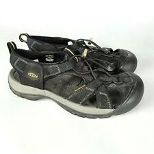 KEEN Venice H2 Women's Black Waterproof Sport Sandals Shoes Hiking Beach Size 9
