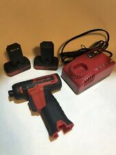 "Snap-On CTS761 1/4"" Hex MicroLithium Cordless Screwdriver + Battery + Charger"