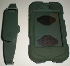 Griffin Survivor case for Apple iPhone 4/4s, Green + swiveling belt clip, NEW