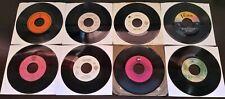 Lot of 8 Warner Bros. & WB Adjacent Label Records 45RPM (Used)