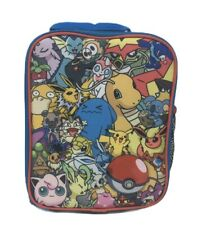 Pokemon Lunch Box Insulated Softsided Lunchbox Kit Bag Multiple Characters