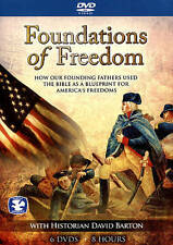 Foundations of Freedom with Historian David Barton (DVD, 2015, 6-Disc Set)