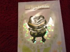 Handmade Children's Birthday Card Animal Frog