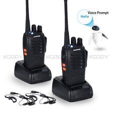 2x Baofeng Walkie Talkies BF-888S UHF 400-470MHz 5W Ham Radio bidirectionnelle