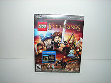 PS3 LEGO The Lord of the Rings w/ BONUS The Fellowship of the Ring Blu-Ray NEW!!
