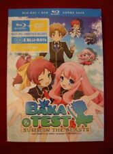 BAKA & TEST: SEASON ONE NEW BLU-RAY/DVD Anime Set