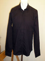 Lincoln Black Long Sleeve Button Front Shirt - Size Medium - BNWOT!!