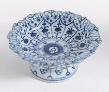 China Chinese Blue/White Porcelain Pedestal Bowl Ming Dynasty ca. 16-17th c