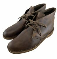 Clarks Bushacre 2 Mens Desert Boots Beeswax Size 11 M US Ankle Chukka 26082286