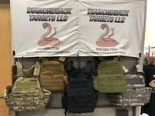 Bullet Proof Vest NIJ Level III w/UHMWPE Plates - In Stock