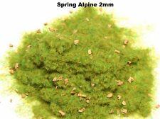 WWS Spring Alpine Static Grass 2mm 10g Railways Trains LandscapeOO Gauge