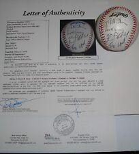 1993-95 Montreal Expos Team Signed RONL Baseball Floyd Stairs Alvarez JSA LOA