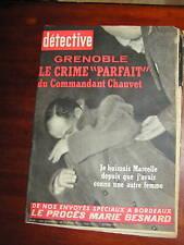 Détective 1961 DINAN ANDERNY CHAVEIGNES MOYEUVRE DINAN