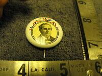 Vintage 1900 William Jennings BRYAN pin pinback button REPRO, 1972