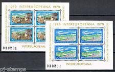 Europa Sympathy 1979 Roemenië blokken 157-158 Intereuropa cat waarde € 4