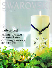 2000 Swarovski Collector Magazine October/November features Christmas ornament