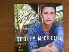Scotty McCreery - Clear As Day cd SIGNED  by Scotty  American Idol Winner  RARE