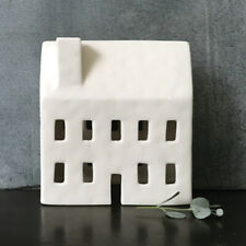 East Of India: Porcelain Tea light Cover - House 2