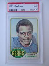 PSA 9 1976 TOPPS WALTER PAYTON ROOKIE CHICAGO BEARS