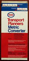 Esso Transport Planners Metric Converter Card