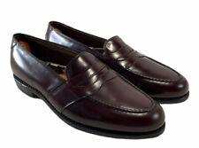 Allen Edmonds Randolph Burgundy Penny Loafer Shoes New Without Box Men's Sz 9.5D