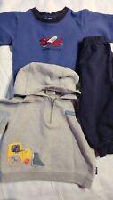 Boys Lot of 3 Sweatshirt Hoodie Sweatpants Old Navy Carters Oshkosh Size 12 M