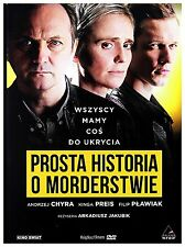 Prosta historia o morderstwie (DVD) 2016 Arkadiusz Jakubik POLSKI POLISH