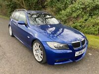 2006 56 BMW 325D M SPORT TOURING 3 SERIES ESTATE CAR MANUAL MOT 15/10/2021