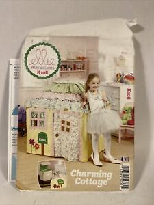 Ellie Mae K108 Pattern for Charming Cottage Playhouse uncut 2012