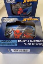 New Spider-Man Surprise Egg Container Candy Toy Marvel Finders Keepers