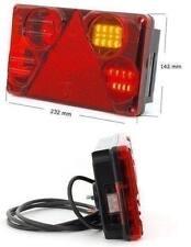 LED Rückleuchte Heckleuchte Schlusslampe Mehrfachlampe 5in1 Rechts 12/24V Nr397