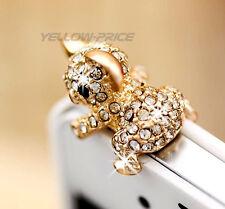 iPhone 6S 3.5mm Anti Dust Proof Crystal Diamond Cute Koala Girl Gift Dust Plug