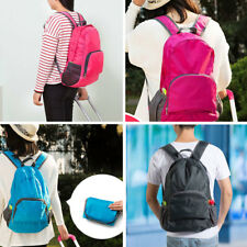 Unisex Outdoor Sports Waterproof Foldable Backpack Hiking Bag Rucksack &
