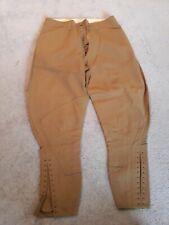 Reproduction Men's WWI 1914 Cotton US Army Breeches 32x27 Jodhpurs Pants