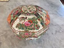 Antique Chinese Porcelain Lidded Piece