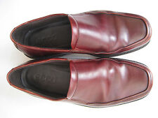 ECCO LEATHER LOAFER MEN SIZE US 9-9.5  EUR 43 NICE