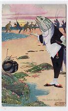 ALICE IN WONDERLAND: Postcard by Charles Folkard (C23705)