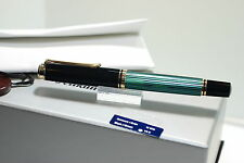 PELIKAN Souverän®  M600  fountain pen Black-Green  NEGRO VERDE